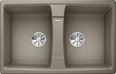 Кухонная мойка Blanco LEXA 8 SILGRANIT PuraDur 524967, серый беж