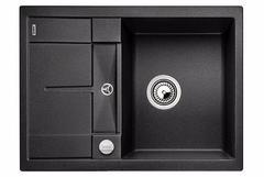 Кухонная мойка Blanco METRA 45S Compact SILGRANIT PuraDur 519572, антрацит