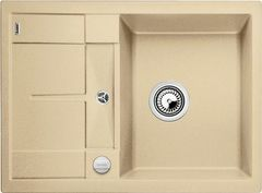 Кухонная мойка Blanco METRA 45 S Compact SILGRANIT PuraDur 519578, шампань
