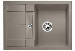 Кухонная мойка Blanco METRA 45 S Compact SILGRANIT PuraDur 519580, серый беж