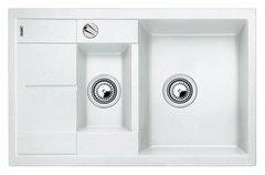 Кухонная мойка Blanco METRA 6S Compact SILGRANIT PuraDur 513468, белый