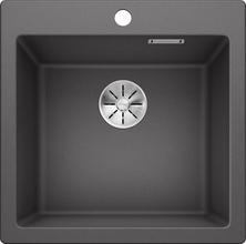 Кухонная мойка Blanco PLEON 5 SILGRANIT PuraDur 521669, темная скала