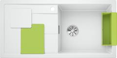 Кухонная мойка Blanco BLANCO SITY XL 6 S SILGRANIT PuraDur 525063, белый