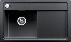 Кухонная мойка Blanco ZENAR 45S SILGRANIT PuraDur 523802, антрацит