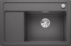 Кухонная мойка Blanco ZENAR XL 6S Compact SILGRANIT PuraDur 523707, темная скала