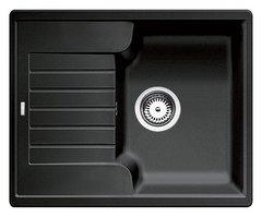 Кухонная мойка Blanco ZIA 40S SILGRANIT PuraDur 516918, антрацит