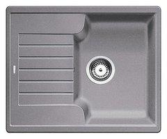 Кухонная мойка Blanco ZIA 40S SILGRANIT PuraDur 516919, алюметаллик
