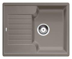 Кухонная мойка Blanco ZIA 40S SILGRANIT PuraDur 517411, серый беж