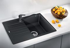Кухонная мойка Blanco ZIA 45 S Compact SILGRANIT PuraDur 524721, антрацит
