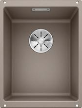 Кухонная мойка Blanco SUBLINE 320-U SILGRANIT PuraDur 523414, серый беж