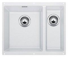 Кухонная мойка Blanco SUBLINE 340/160-U SILGRANIT PuraDur 523552, белый