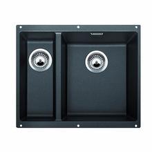 Кухонная мойка Blanco SUBLINE 340/160-U SILGRANIT PuraDur 523558, антрацит