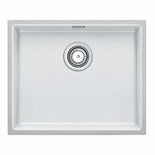 Кухонная мойка Blanco SUBLINE 500-IF SILGRANIT PuraDur 524110, белый