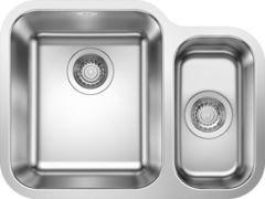 Кухонная мойка Blanco Supra 340/180-U 525217, с клапаном-автоматом левая
