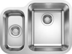 Кухонная мойка Blanco Supra 340/180-U 525215, с клапаном-автоматом правая