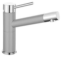 Смеситель для кухни Blanco ALTA Compact 520729 хром/жемчужный