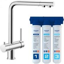 Комплект смеситель Blanco Fontas II UltraResist + BWT Барьер Expert Standart 525138P1