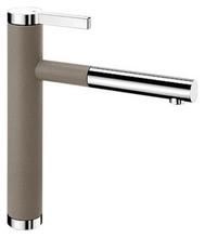 Смеситель для кухни Blanco LINEE-S 518446 серый беж/хром