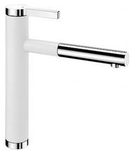 Смеситель для кухни Blanco LINEE-S 518441 белый/хром