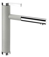 Смеситель для кухни Blanco LINEE-S 520745 жемчужный/хром